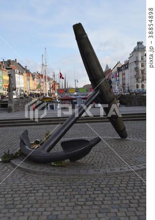 デンマーク、コペンハーゲン、ニューハウンのイカリ 38854898