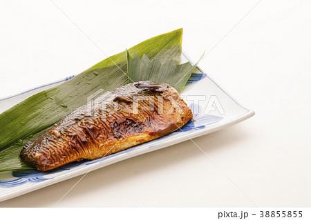 魚料理 サバの塩焼き 38855855