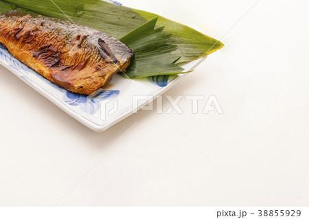 魚料理 サバの塩焼き 38855929
