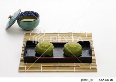 抹茶味の生菓子 日本のお菓子 38856636