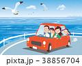 ドライブ_海岸 38856704