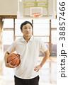 バスケットボール ミドル男性 38857466
