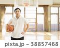 バスケットボール ミドル男性 38857468