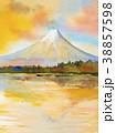 名所 水彩画 透明水彩のイラスト 38857598