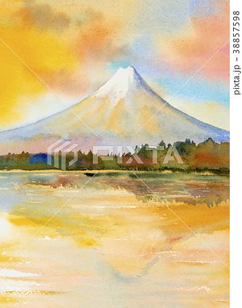Mount Fuji, lake kawaguchiko, Famous of Japan. 38857598