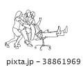 人々 人物 幸せのイラスト 38861969