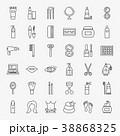 アイコン イコン 化粧品のイラスト 38868325