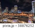 都市風景 東京駅夜景 丸の内 38876252