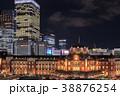 東京駅 駅 風景の写真 38876254