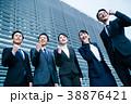 ビジネス スーツの男女  38876421
