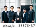 会社員 同僚 男女の写真 38876437