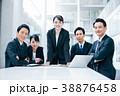 ビジネスマン スーツ ビジネスウーマンの写真 38876458
