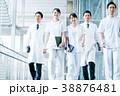ビジネス 白衣の男女  38876481