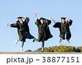 卒業 卒業生 目盛りの写真 38877151