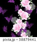 植物 花 薔薇のイラスト 38879441