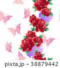 植物 花 薔薇のイラスト 38879442