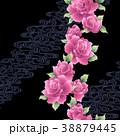 植物 花 薔薇のイラスト 38879445