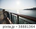海沿いのペデストリアンデッキ 38881364