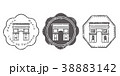 凱旋門 スタンプ 38883142