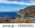 眺め 西伊豆 富士山の写真 38884001