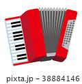 アコーディオン 楽器 38884146