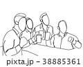 図案 ベクトル グループのイラスト 38885361