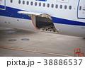 貨物ドア 航空機 飛行機の写真 38886537