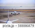 飛行機 空港 航空機の写真 38886879