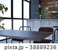 カフェ インテリア 店舗のイラスト 38889236