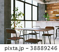 カフェ インテリア 店舗のイラスト 38889246