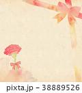 フレーム 花 カーネーションのイラスト 38889526