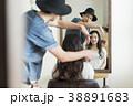 女性 スタイリング ヘアセットの写真 38891683