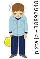お辞儀 建築 土木のイラスト 38892648