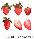 ベリー いちご イチゴのイラスト 38898751