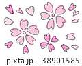 桜の背景 イラスト 春 38901585
