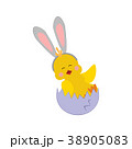 Easter chicken with ears 38905083