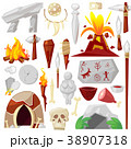 Stone age vector primeval neanderthal stoned 38907318