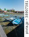 ペナン 漁船 港の写真 38907381
