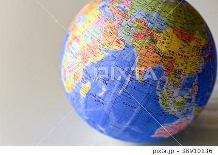 地球儀 インド周辺 38910136