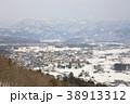 白馬 白馬村 冬の写真 38913312