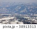 白馬 白馬村 冬の写真 38913313