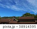 雲 青空 空の写真 38914395