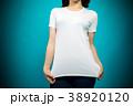 女性 Tシャツ 白いの写真 38920120