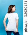 人物 女性 Tシャツの写真 38920121