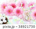 ピンクのガーベラ イースター 38921730