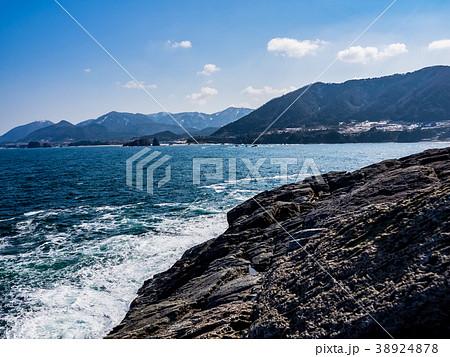 京都北部の突き出た半島で丹後松島と呼ばれている絶景ポイント 犬ヶ岬展望所 釣りポイント 38924878