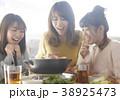 鍋パーティー 女子会 38925473