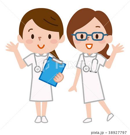 看護師 ナースのイラスト素材 38927797 Pixta