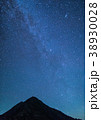 北岳 天の川 星空の写真 38930028