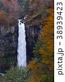 【日本の滝100選】紅葉の華厳の滝 38939423